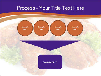 Chicken Appetizer PowerPoint Templates - Slide 93