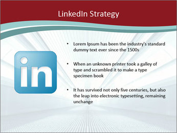 Bright Blue Light PowerPoint Template - Slide 12