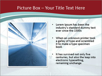 Bright Blue Light PowerPoint Template - Slide 13