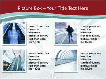 Bright Blue Light PowerPoint Template - Slide 14