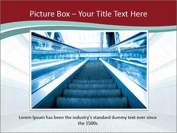 Bright Blue Light PowerPoint Template - Slide 15