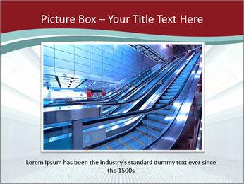 Bright Blue Light PowerPoint Template - Slide 16
