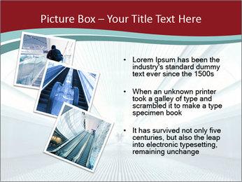 Bright Blue Light PowerPoint Template - Slide 17