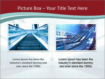 Bright Blue Light PowerPoint Template - Slide 18