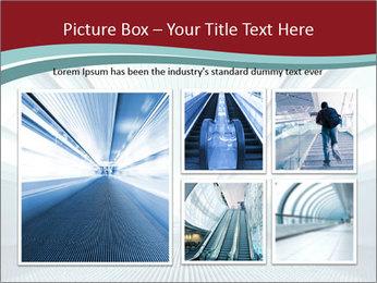 Bright Blue Light PowerPoint Template - Slide 19