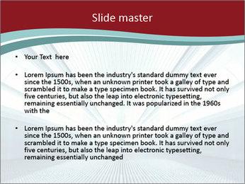 Bright Blue Light PowerPoint Template - Slide 2
