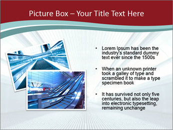 Bright Blue Light PowerPoint Template - Slide 20
