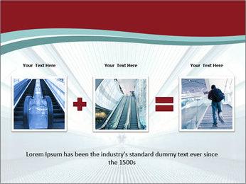 Bright Blue Light PowerPoint Template - Slide 22
