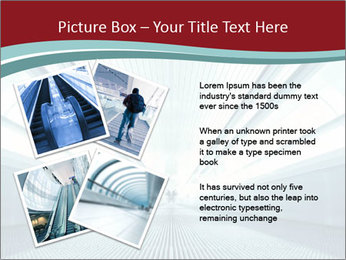 Bright Blue Light PowerPoint Template - Slide 23