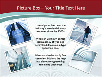 Bright Blue Light PowerPoint Template - Slide 24
