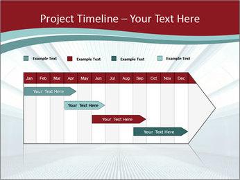 Bright Blue Light PowerPoint Template - Slide 25