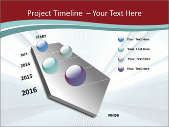 Bright Blue Light PowerPoint Template - Slide 26