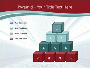 Bright Blue Light PowerPoint Template - Slide 31