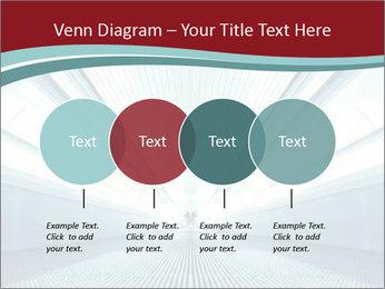 Bright Blue Light PowerPoint Template - Slide 32
