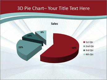 Bright Blue Light PowerPoint Template - Slide 35