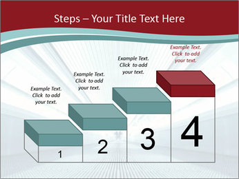 Bright Blue Light PowerPoint Template - Slide 64