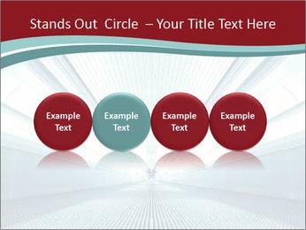 Bright Blue Light PowerPoint Template - Slide 76