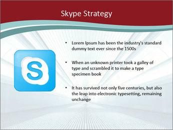 Bright Blue Light PowerPoint Template - Slide 8
