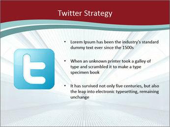 Bright Blue Light PowerPoint Template - Slide 9