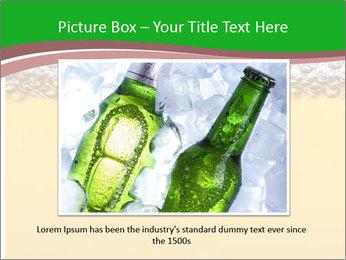 Golden Beer PowerPoint Template - Slide 15