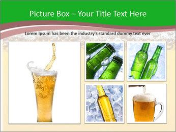 Golden Beer PowerPoint Template - Slide 19