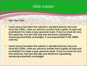 Golden Beer PowerPoint Template - Slide 2
