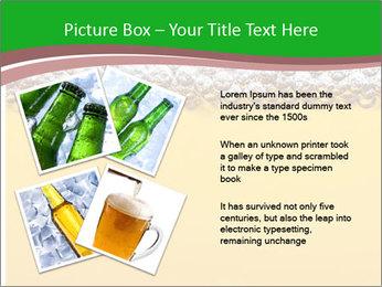 Golden Beer PowerPoint Template - Slide 23