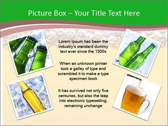 Golden Beer PowerPoint Template - Slide 24