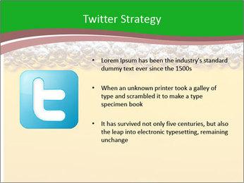 Golden Beer PowerPoint Template - Slide 9