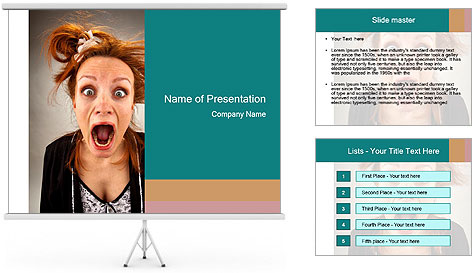 Fright PowerPoint Template