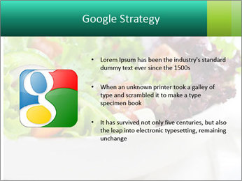 Veg Salad PowerPoint Template - Slide 10