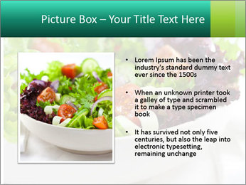 Veg Salad PowerPoint Templates - Slide 13