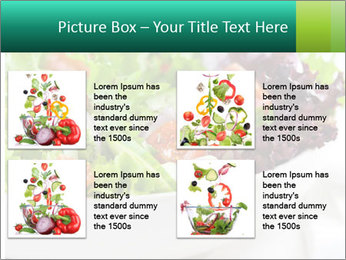 Veg Salad PowerPoint Template - Slide 14