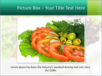 Veg Salad PowerPoint Template - Slide 15