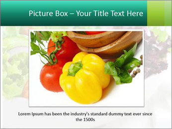 Veg Salad PowerPoint Template - Slide 16
