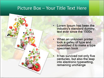 Veg Salad PowerPoint Template - Slide 17