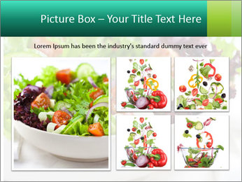 Veg Salad PowerPoint Template - Slide 19