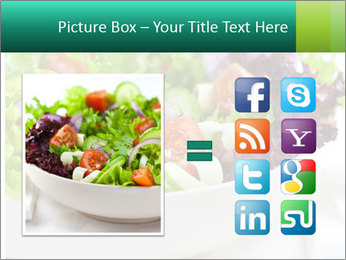 Veg Salad PowerPoint Templates - Slide 21