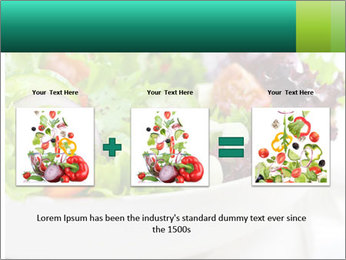 Veg Salad PowerPoint Template - Slide 22