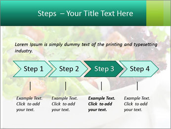 Veg Salad PowerPoint Template - Slide 4