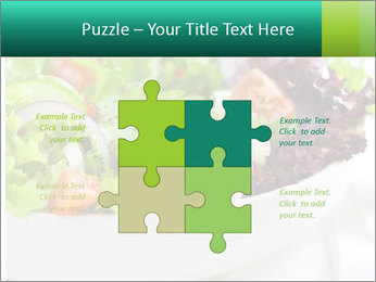 Veg Salad PowerPoint Template - Slide 43