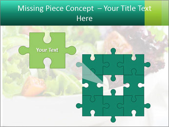 Veg Salad PowerPoint Template - Slide 45