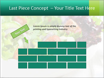 Veg Salad PowerPoint Template - Slide 46