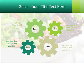 Veg Salad PowerPoint Template - Slide 47