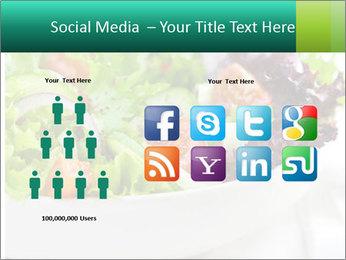 Veg Salad PowerPoint Template - Slide 5