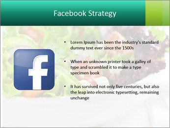 Veg Salad PowerPoint Template - Slide 6