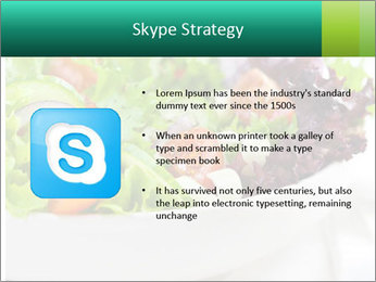 Veg Salad PowerPoint Template - Slide 8