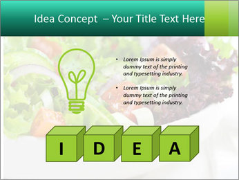 Veg Salad PowerPoint Templates - Slide 80