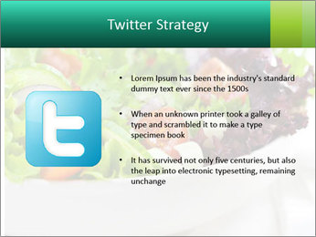 Veg Salad PowerPoint Template - Slide 9