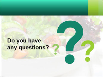 Veg Salad PowerPoint Template - Slide 96